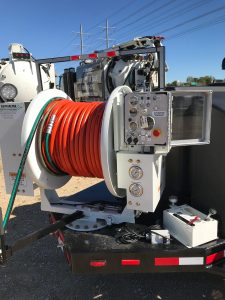 Reel of a 7000 Series Truck Water Jetter
