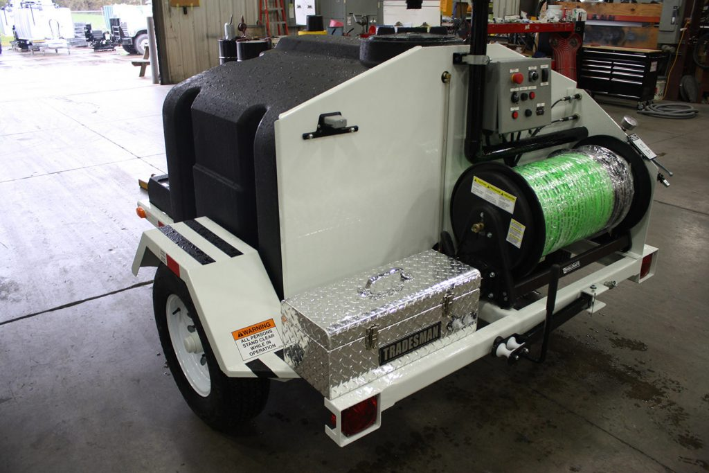 3000 Series Trailer Water Jetter