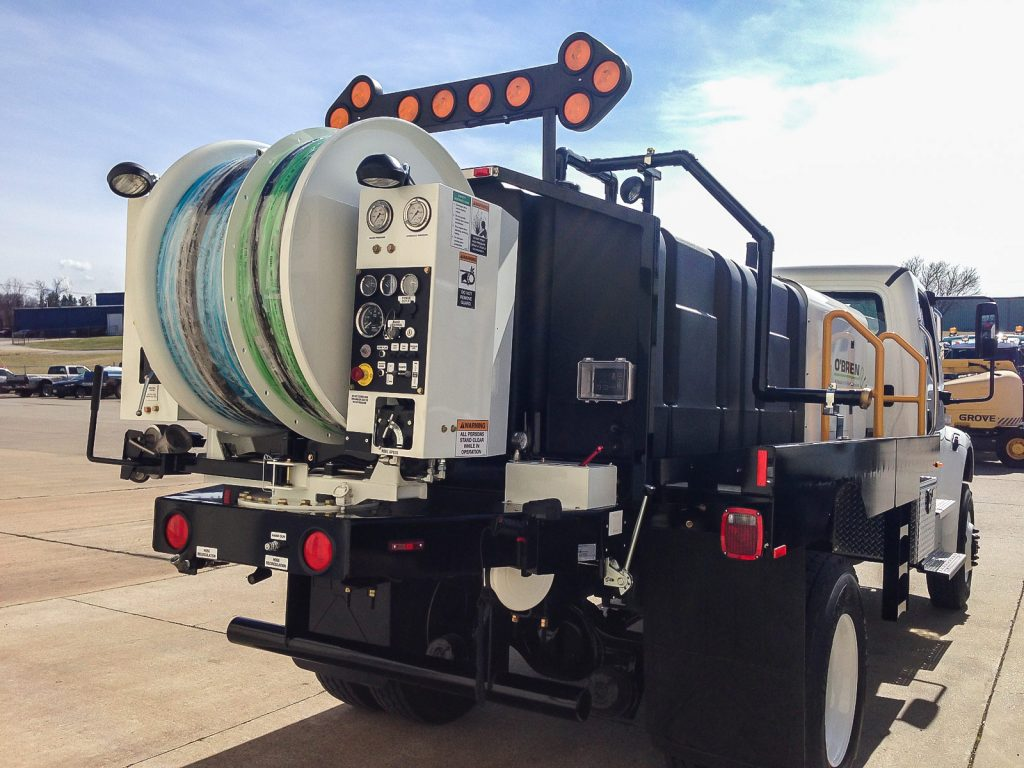 7000 Series Truck Water Jetter
