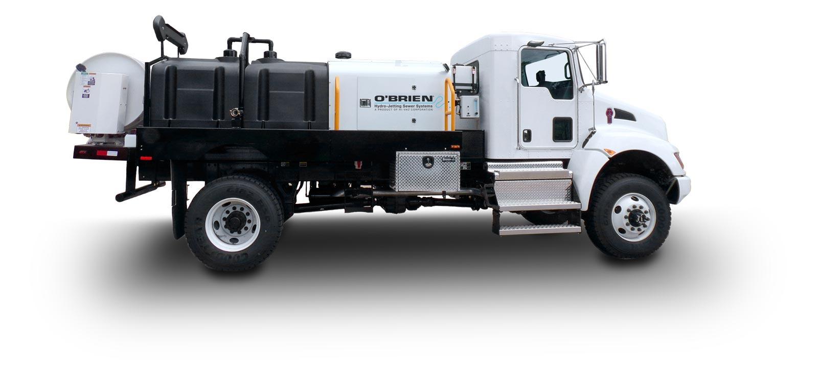 7000 Series Truck Water Jetter